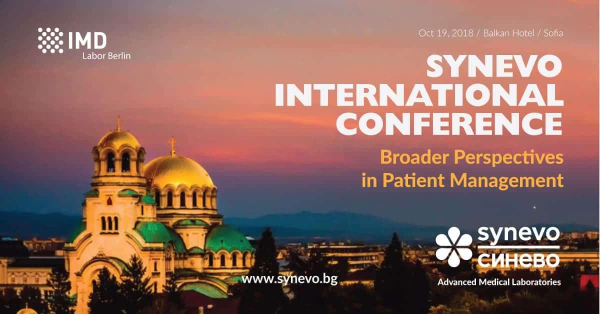 Synevo Bulgaria International conference Sofia 2018