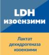 Лактат дехидрогеназа (LDH) – изоензими
